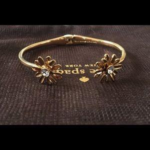 Kate Spade Flower Hinge Bracelet